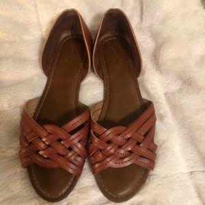 Brown Leather Sandal Hirachi